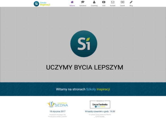 SzkolaInspiracji.pl – Strona Internetowa