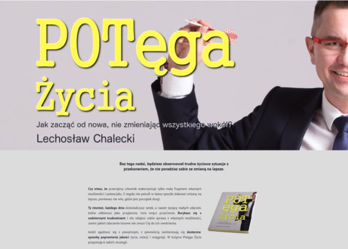 PotegaZycia.pl – Strona Internetowa
