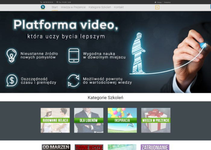 SIVOD.pl – Strona Internetowa